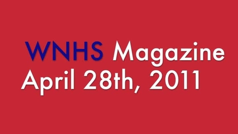 Thumbnail for entry WNHS-TV April 28, 2011
