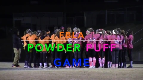 Thumbnail for entry Powderpuff Football