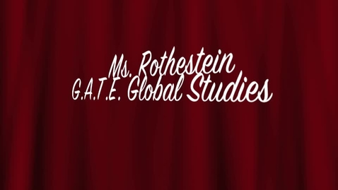 Thumbnail for entry Gate Global Studies
