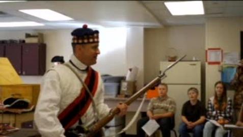 Thumbnail for entry Revolutionary War Reenactment