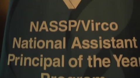 Thumbnail for entry 2011 NASSP/Virco Assistant Principal of the Year: Richard Conley