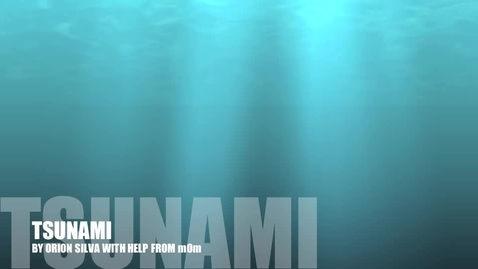 Thumbnail for entry Tsunami