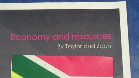 Thumbnail for entry Wolfe - South Africa's Resources & Economy