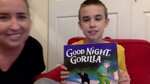 Thumbnail for entry Good Night Gorilla-Story Time with Ms. Genna & Caleb