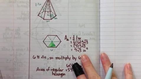 Thumbnail for entry Obj23b Hexagonal Pyramid SA part 2