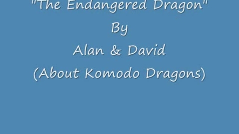 Thumbnail for entry Alan and David - Komodo