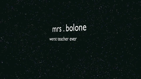 Thumbnail for entry Mrs. Bologne
