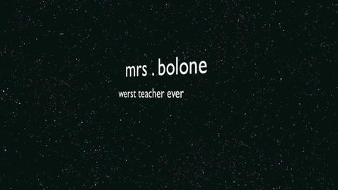 Thumbnail for entry Mrs. Bologne