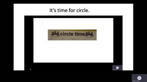 Thumbnail for entry Wednesday July 8 Circle Time