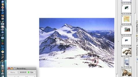 Thumbnail for entry Otzi Screencast