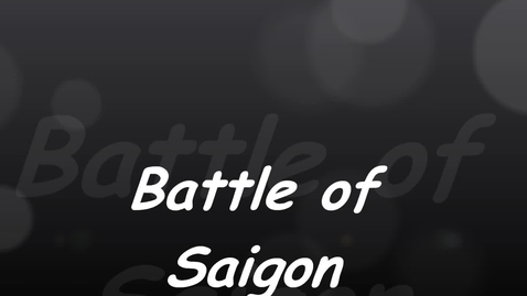 Thumbnail for entry S.S 806 Cannavale Project - The Battle of Siagon