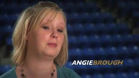 Thumbnail for entry Barton student testimonial - Angie Brough
