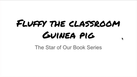 Thumbnail for entry Series Book Clubs session 1 Fluffy