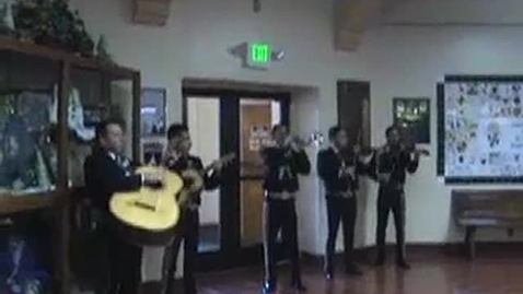 Thumbnail for entry Mariachis come to Mission