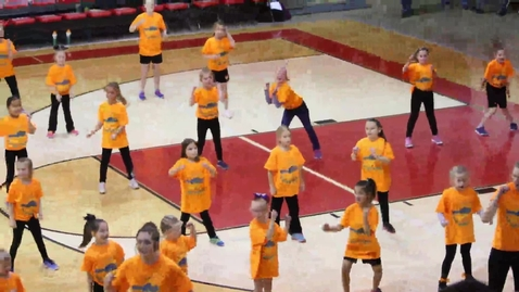 Thumbnail for entry South Newton Mini Cheer Camp Performance
