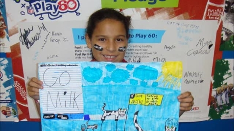Thumbnail for entry Got Milk poster and essay contest