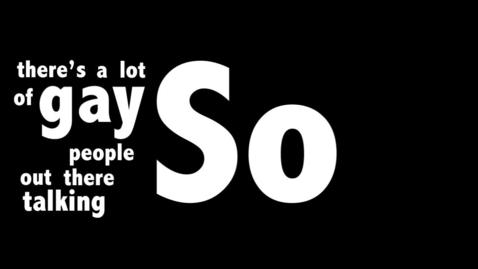 Thumbnail for entry Josh Hucherson PSA Kinetic Typography
