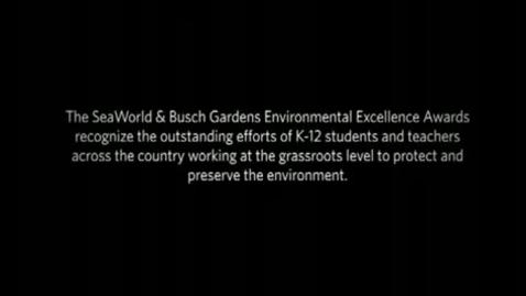 Thumbnail for entry 2010 Seaworld Environmental Excellence Awards