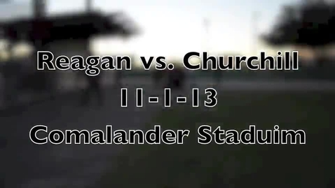 Thumbnail for entry Reagan vs. Churchill Highlights
