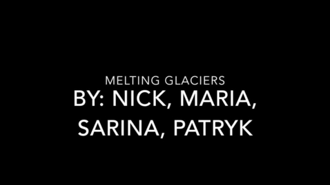 Thumbnail for entry Melting Glaciers