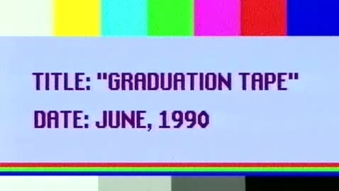 Thumbnail for entry (1990) Graduation Highlights Video