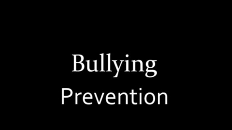 Thumbnail for entry Bullying Prevention PSA Noah Vaughn