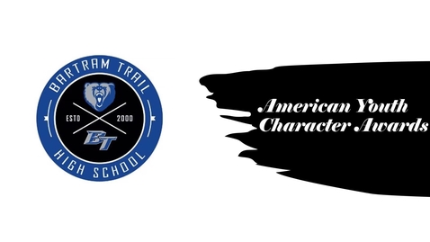 Thumbnail for entry Tuesday, May 19: Amercian Youth Character Awards