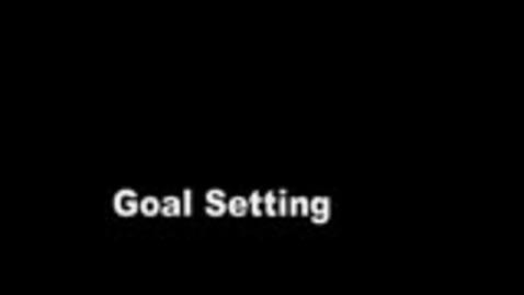 Thumbnail for entry Goal Setting Activity
