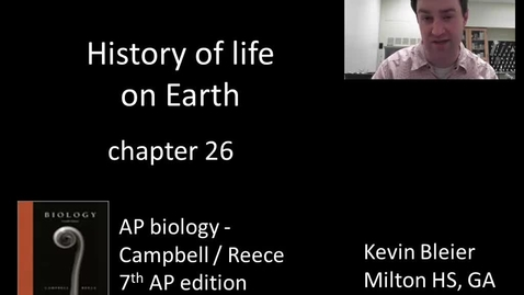 Thumbnail for entry History of life