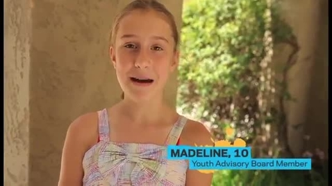 Thumbnail for entry Madeline - Youth Advisory Board