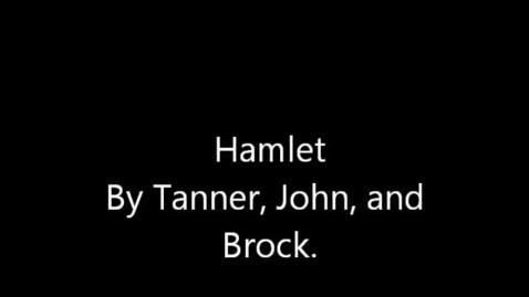 Thumbnail for entry Hamlet by Tanner, John, Brock
