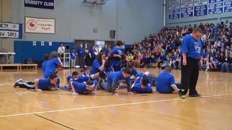 Thumbnail for entry 2013 Brockport Middle School Variety Show - Mr. Dauphin's class & friends