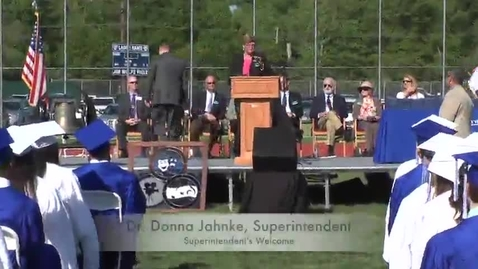 Thumbnail for entry Ladue H.S. 2014 Graduation - Superintendent's Welcome