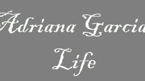 Thumbnail for entry adriana garcia life vid:)