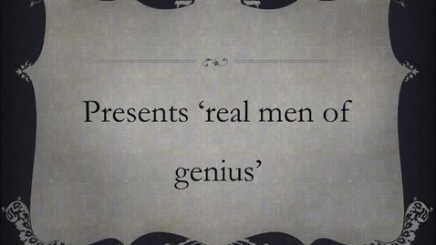 Thumbnail for entry Real men (or women) of genius JRB, the 20s show