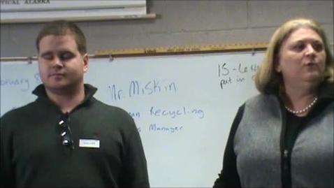 Thumbnail for entry Goldman Recycling Presentation