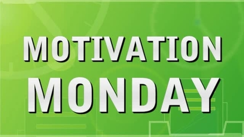 Thumbnail for entry Motivation Monday - Chores