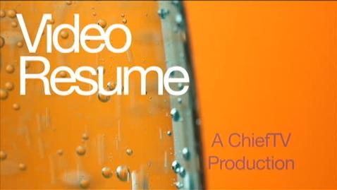 Thumbnail for entry Video Resume - Haven Arnzen - ChiefTV
