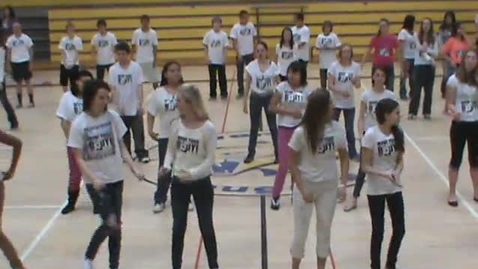 Thumbnail for entry WAT-AAH!'s Move Your Body 2013 - Riverside Middle School,  Billings Montana