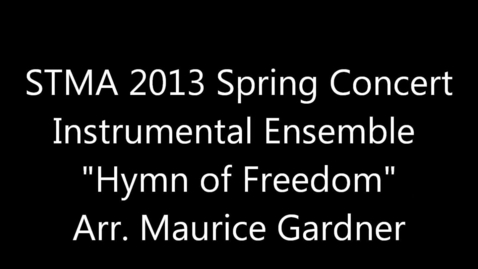 Thumbnail for entry Hymn of Freedom
