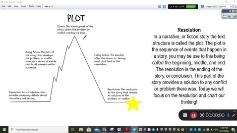 Thumbnail for entry Reading Mini-Lesson Plot Resolution