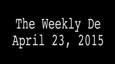 Thumbnail for entry 2015.04.24 - Weekly De