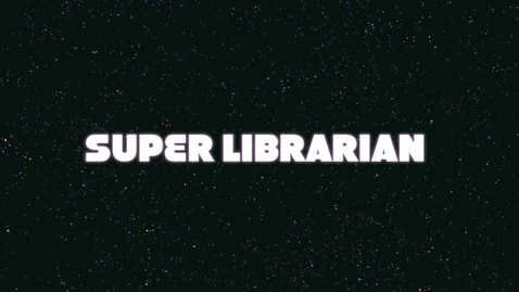Thumbnail for entry Super Librarian