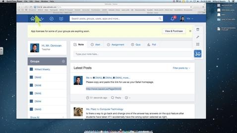 Thumbnail for entry Safari-Setting your homepage