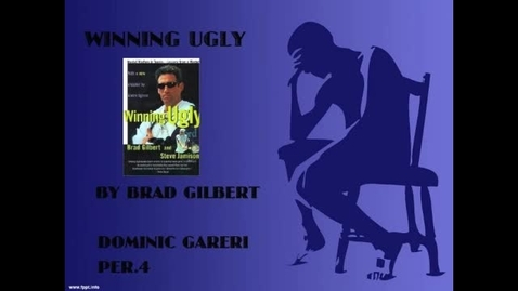 Thumbnail for entry Winning Ugly Book Trailer