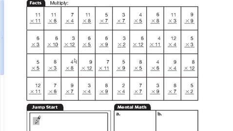 Thumbnail for entry Math Lesson 82 (Fair Groups)