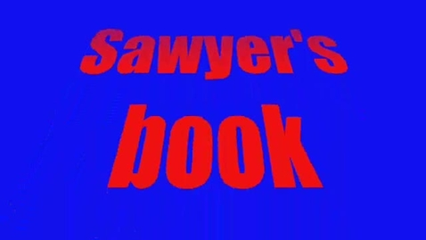 Thumbnail for entry Hollingsworth:  Sawyer