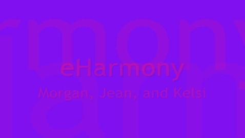 Thumbnail for entry eHarmony