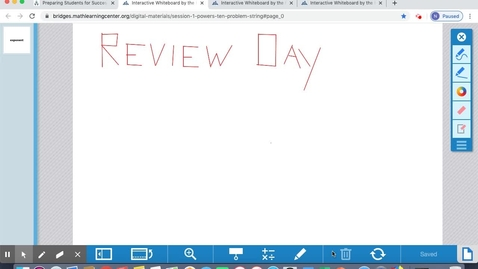 Thumbnail for entry May 29 Math Lesson