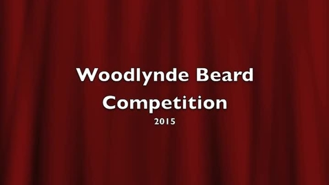 Thumbnail for entry Beard Competition 2015